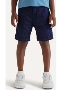 Bermuda Mini Tito Azul