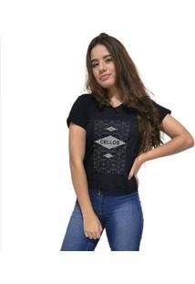 Camiseta Gola V Cellos Raspberry Premium Feminina - Feminino