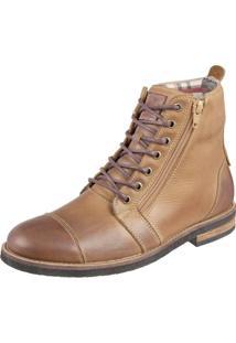 Bota Shoes Grand Urbano Tamanho Especial Camel