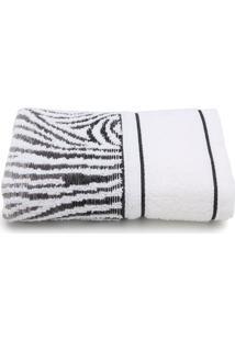 Toalha De Rosto Karsten Animale Fio Cardado 49X70Cm Branco