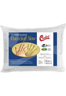Travesseiro Viscoelastic Soft- Branco- 16X70X50Cm
