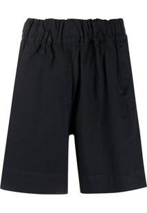 Woolrich Short Com Modelagem Ampla - Azul