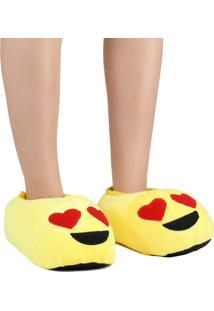 Pantufa Europa Emoji Amarelo