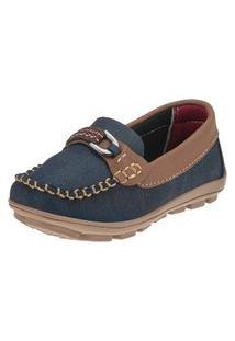 Sapato Mocassim Infantil Masculino Minipasso