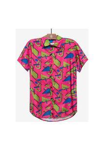 Camisa Hermoso Compadre Casual Rosa
