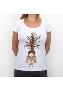 Boy Tree Dream - Camiseta Clássica Feminina