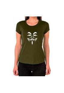 Camiseta Feminina Algodão Básica Leve Macia Confortável Verde