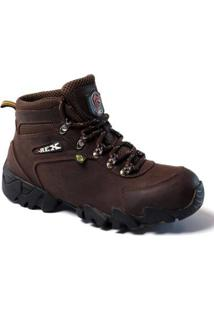 Bota Top Franca Shoes Adventure Masculino - Masculino-Café