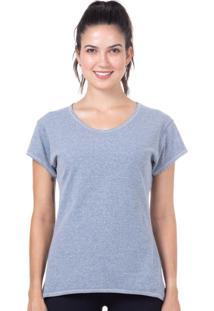 Camiseta Baby Look Mescla | 598.822