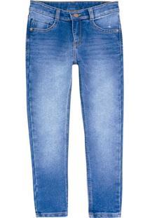 Calça Jeans Infantil Menino Skinny Jeans Amigo