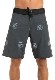 Bermuda Boardshort Dark Sound Red Nose Masculina - Masculino