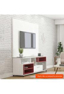 Painel Para Tv 1.5 Karina Branco Fosco