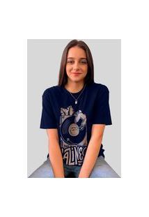 Camiseta Ventura Laziness Marinho