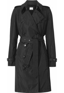 Burberry Trench Coat The Kensington - Preto