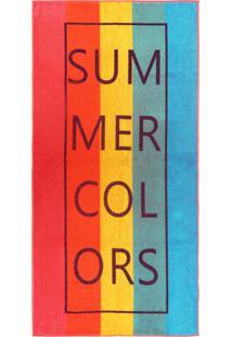 Toalha De Praia - Appel -Beach Summer Colors
