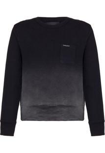 Casaco Circular Ml Liso Sweater Jato - Preto - 4