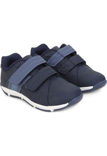 Sapato Infantil Klin Outdoor Masculino - Masculino-Marinho+Azul