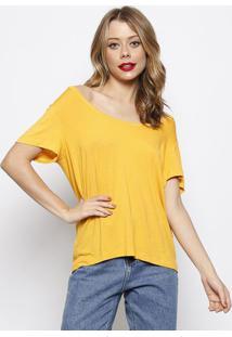 Camiseta Lisa- Amarela- Forumforum
