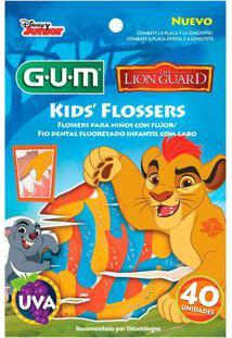 Flosser Gum Fio Dental Infantil Disney Lion Guard 40 Unidade