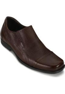 Sapato Social Joval Jv18-900 Masculino - Masculino-Marrom