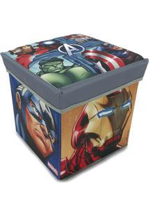 Banquinho Porta Objeto Vingadores - Zippy Toys