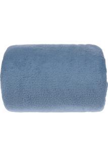 Manta Microfibra Com Mangas - Bene Casa - Azul
