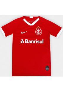 Camisa Infantil Nike Internacional 2019/20 Torcedor