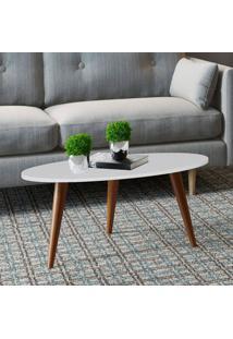 Mesa Oval Retrô – Be Mobiliário - Branco