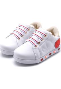 514e5c39266 Tênis Para Meninas Algodao Led infantil