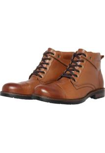 Bota Casual Perfuros Touro Boots Masculina Tabaco Marrom - Cafã©/Caramelo/Castanho/Marrom - Masculino - Dafiti