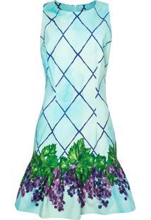 Vestido Isolda Babado Grape - Verde