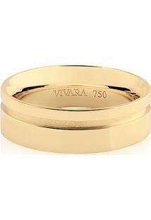 Aliança De Casamento Ouro Champanhe