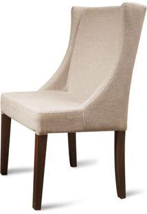 Cadeira Tata Bege Base Tabaco - 50461 - Sun House