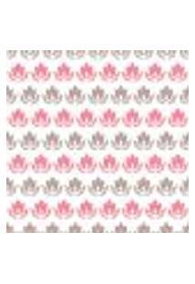 Papel De Parede Adesivo - Flores Em Faixas - 080Ppf