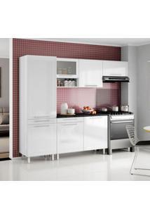 Cozinha Compacta Quadri 7 Pt Branco