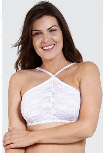 Top Feminino Renda Marisa