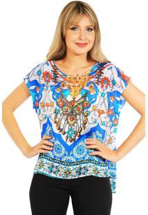 Blusa 101 Resort Wear Estampada