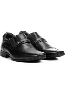 Sapato Social Rafarillo Duo Dress Masculino - Masculino-Preto