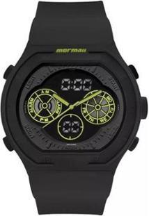 Relógio Mormaii Analógico/Digital Lumi Mo160323Ba8V Preto Masc - Unissex