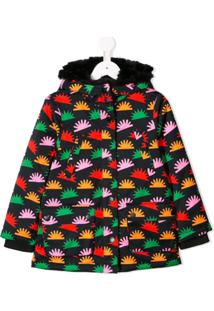 Stella Mccartney Kids Jaqueta Estampada - Preto