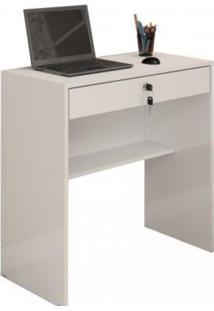 Escrivaninha/Mesa Para Computador Andorinha Jcm Movelaria -Branco