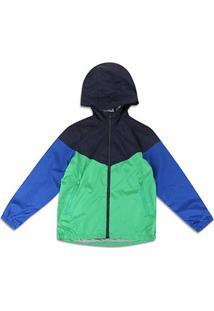 Jaqueta Corta Vento Infantil Gap Multi Color - Masculino-Azul