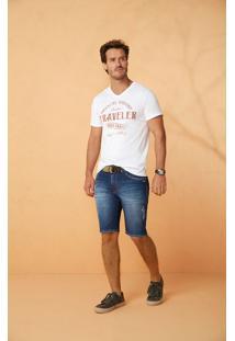 Bermuda Jeans Slim Estonada Malwee