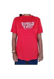 Camiseta Calcci - Vermelho