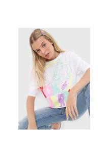 Camiseta My Favorite Thing(S) Tom E Jerry Branca