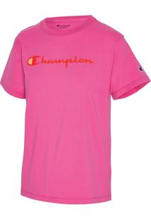 Camiseta Champion Clássica T18H - Pink - Champion - Tricae