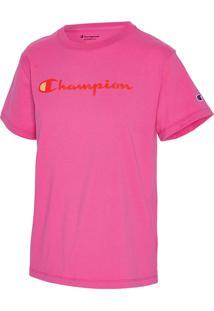 Camiseta Champion Clássica T18H - Pink - Champion