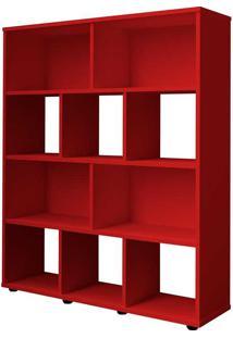 Estante Para Livros Book - Artely - Vermelho