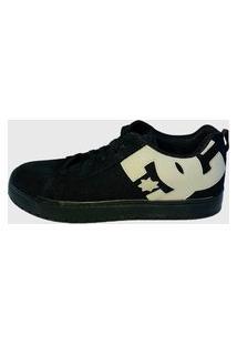 Tênis Dc Shoes Court Graffik Tx Preto/Cinza Masculino