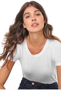 Camiseta Gap Lisa Branca - Kanui